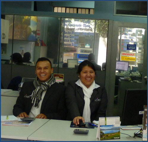 Fertur Peru Travel Miraflores office