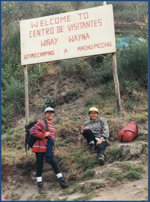 Hiking the Inca Trail 1995