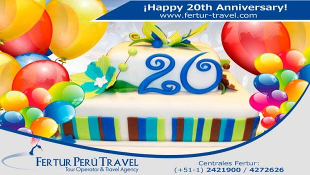 Fertur Peru Travel celebrates 20th year serving travelers