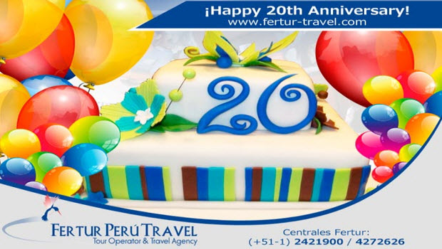 Fertur Peru Travel celebrates 20th year serving travelers