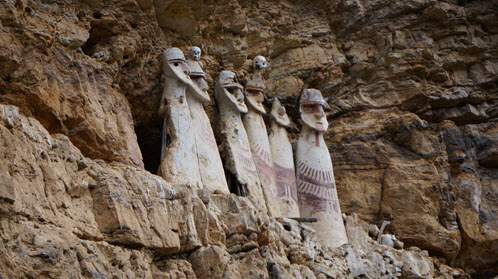 Visit Kuelap and also see the Sarcophagi of Karajia