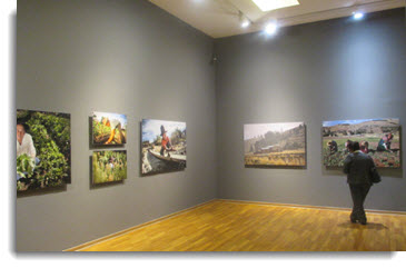 Stop by the Impacts and Adaptation to Climate Change photo exhibit during your tour of Lima's historic downtown area
