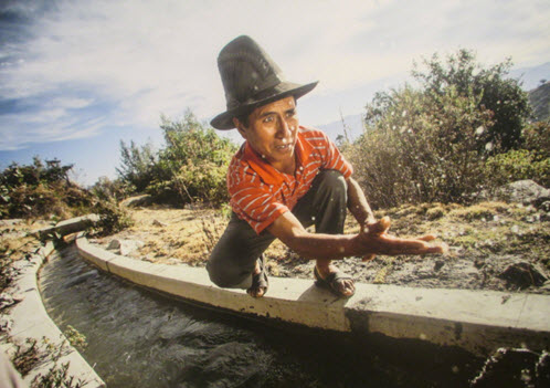 CARE Peru working with communities improving water management in the Peruvian highlands