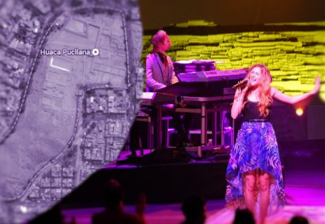 Joss Stone to play ancient cultural venue: the Huaca Pucllana