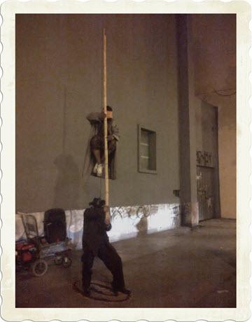Lima suspension of disbelief street performance