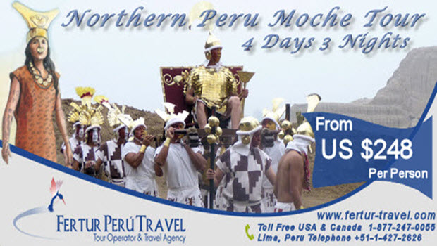 Northern Peru Archaeology Tour Special  4 Days 3 Nights