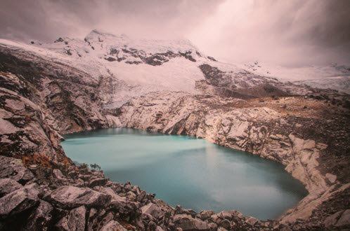 Slow the melt of glaciers in the Peruvian Andes