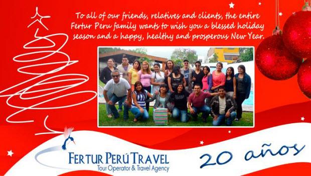 Fertur wishing all holiday cheer and a joyful new year