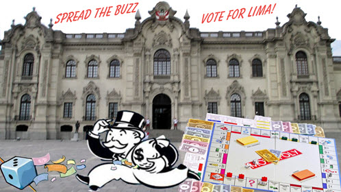 Mr Monopoly Appraises the Peru Government Palace_sm