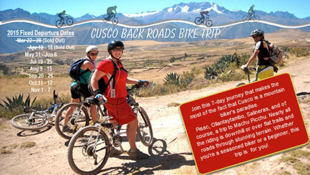 Mountain Biking in Cusco's Back Country of the Inca