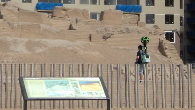 Google has began scanning Peru's archaeological sites, like Huaca Huantinamarca