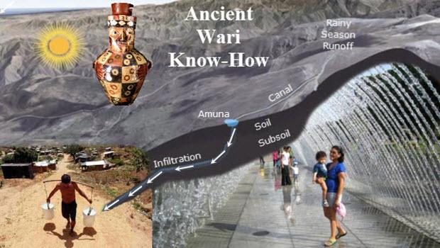 Refurbishing pre-Inca water channels to fix Lima's desert water woes