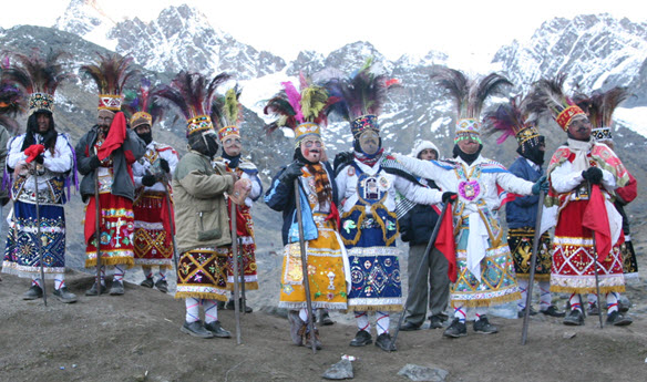 The breathtaking Qoyllur Rit'i celebration is an incredible opportunity to experience Andean culture up close.