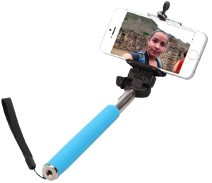 Feel free to bring your selfie  stick to Machu Picchu for a quick self portrait snapshot during your tour