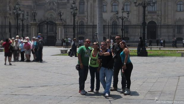 Selfie Sticks for Peru Tours: you can still get away with it at Machu Picchu