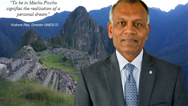 UNESCO chief tours Machu Picchu and lauds the beautiful experience