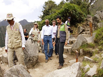"""UNESCO chief Kishore Rao takes a tour of Machu Picchu and realizes a """"personal dream."""""""