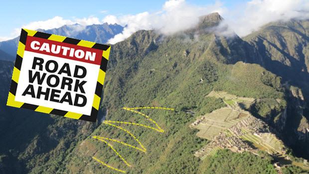 Hiram Bingham Highway to Machu Picchu needs urgent upkeep