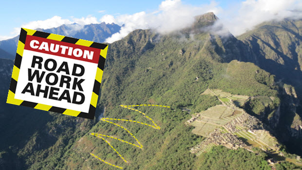 Hiram Bingham Highway to Machu Picchu needs urgent upkeep