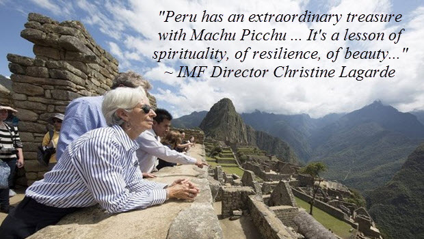 Machu Picchu offers a lesson of spirituality, resilience & beauty, says IMF chief