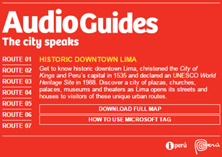Audio Guides:The City Speaks, Historic Downtown Lima