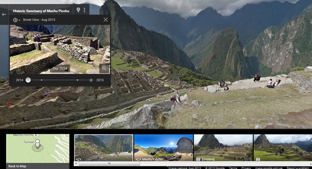 Google Machu Picchu Street View Goes Live