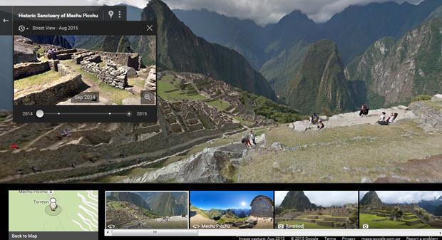 Google Machu Picchu Street View Goes Live
