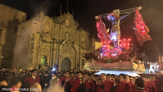 The Lord of the Earthquakes procession on March 22, 2016
