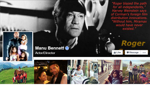 Manu Family Vacation and an Actor's Tribute to Roger Corman