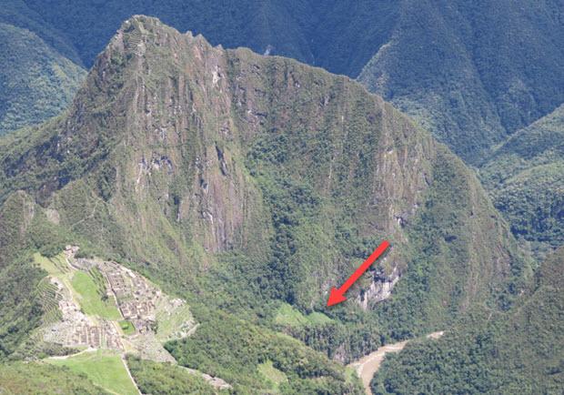 Andenes Orientales of Machu Picchu