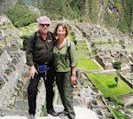 Joe and Margaret at Machu Picchu
