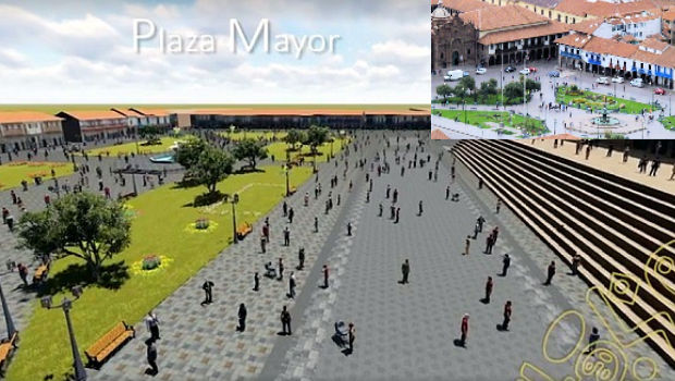 Walking tour of Cusco's Main Plaza