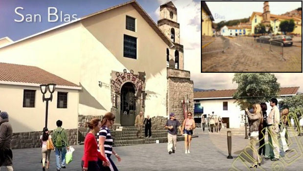 Touring Cusco's San Blas district