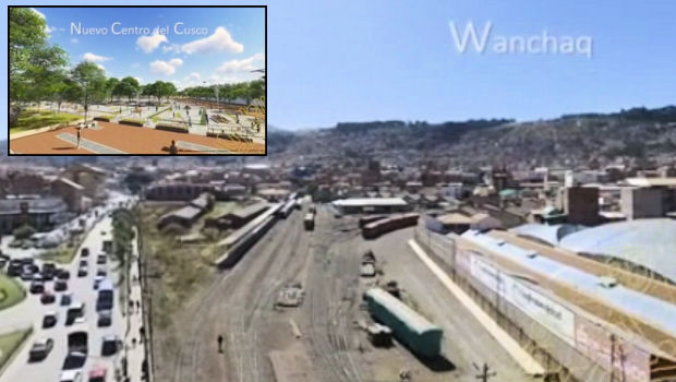 Converting the Wanchaq train yards into a vast tree-lined Municipal Center