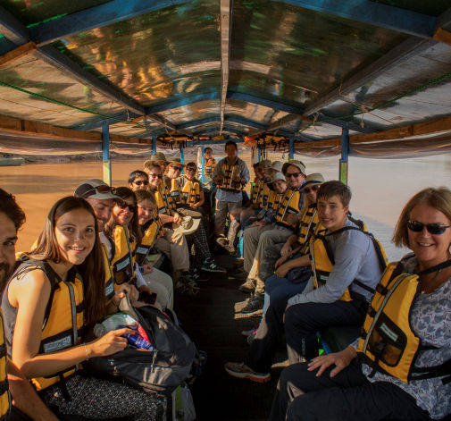 Amazon lodge boat journey