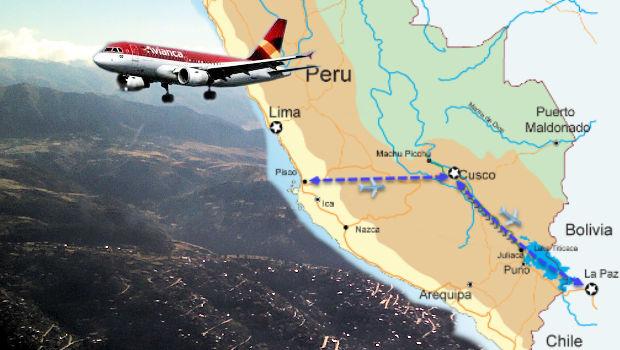 Avianca seeks Cusco-Pisco and Cusco-La Paz flight routes