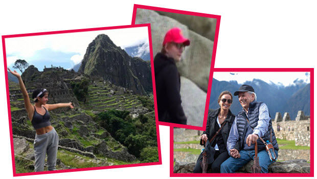 Vargas Llosa and other celebrity sightings at Machu Picchu so far in 2017
