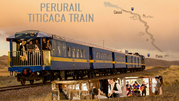 Book the PeruRail Luxury Titicaca Train between Cusco and Puno