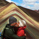 Federico and Annalisa at Rainbow Mountain