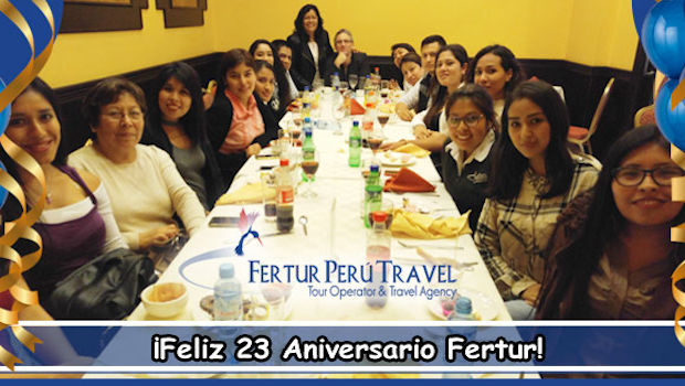 Fertur Peru Travel Celebrates its 23rd year!