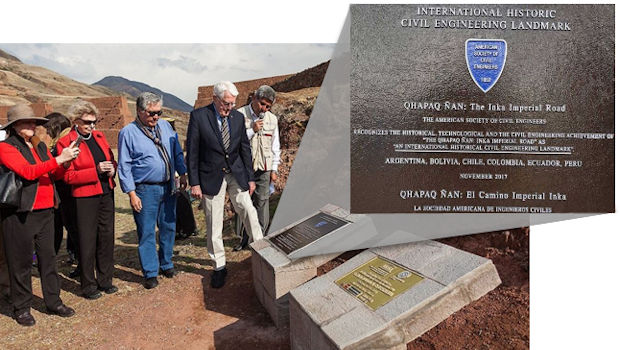 Inca Trail Declared Worldwide Historic Landmark of Civil Engineering
