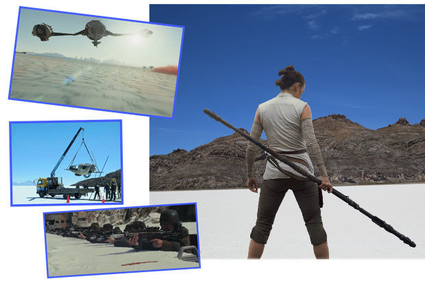 Salar de Uyuni was a key location for Star Wars: Episode VIII - The Last Jedi