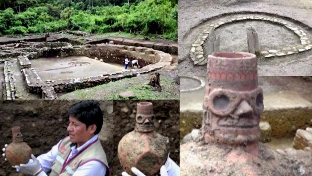 D-shaped Wari Temple Discovered in Cusco's Vilcabamba Jungle