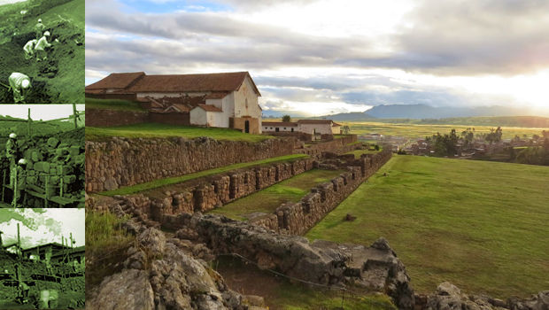 Restoration of the Inca terraces at Chinchero nearly complete