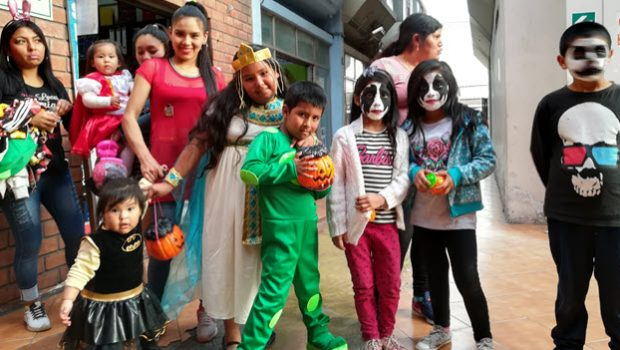 Do they celebrate Halloween in Peru?