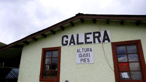 Galera railway station - Photo @ Fertur