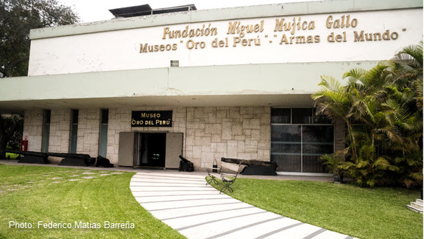 Gold Museum in Lima: Pre-Columbian Gold Artifacts and Arms