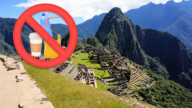 Nothing Plastic about Machu Picchu, that's the Goal