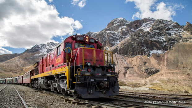 Astonishing Andean Train Ride from Lima to Huancayo