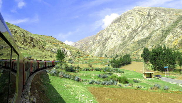 Travel from Lima to Huancayo - Photo @ Fertur